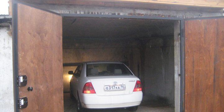 Как открыть гараж без ключа?
